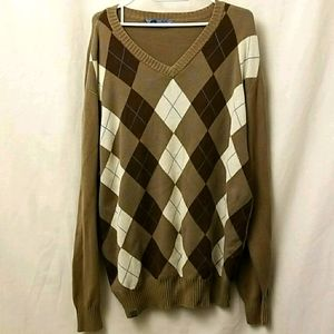 Rip Zone Mens Brown XL Sweater